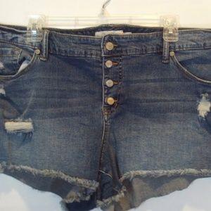Torrid Distressed Shorts size 20
